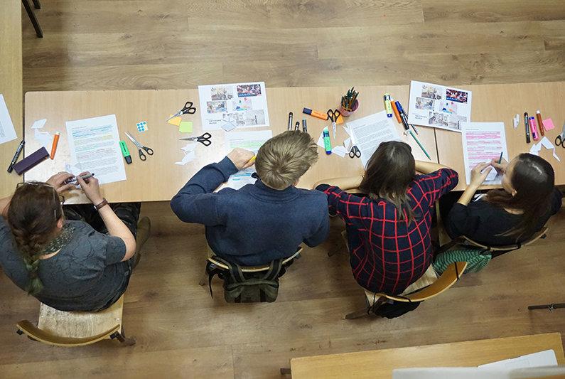Projekt poświęcony edukacji wizualnej, autorka: Magdalena Kościańska