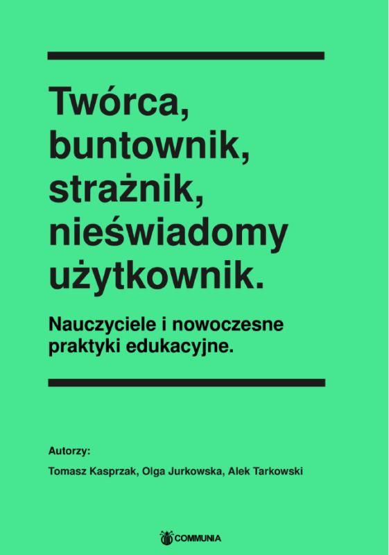 Zielona okładka publikacji z dużym, czarnym tytułem.